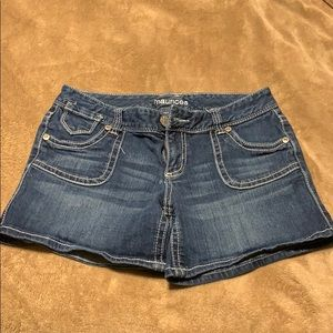 Juniors Jean shorts from Maurices